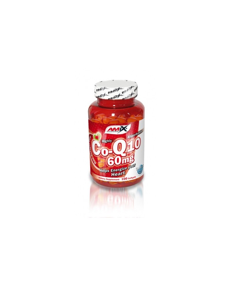 Coenzyme Q10 60 mg cps. - 100cps