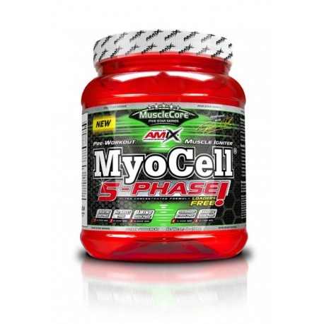 MuscleCore? DW - MyoCell? 5 Phase - 500g - fruit punch