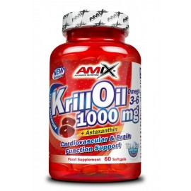 Krill Oil - 1000mg - 60 softgels