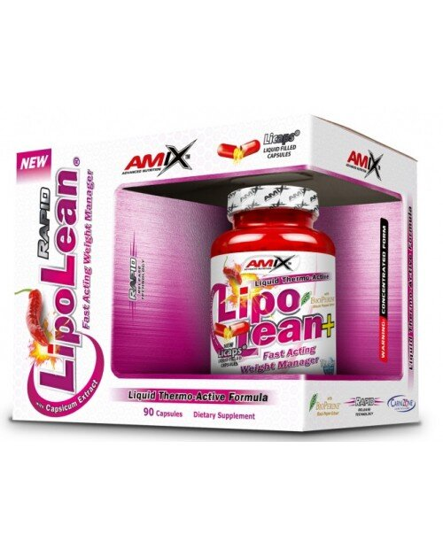 Lipo Lean Plus Liquid 90cps. BOX